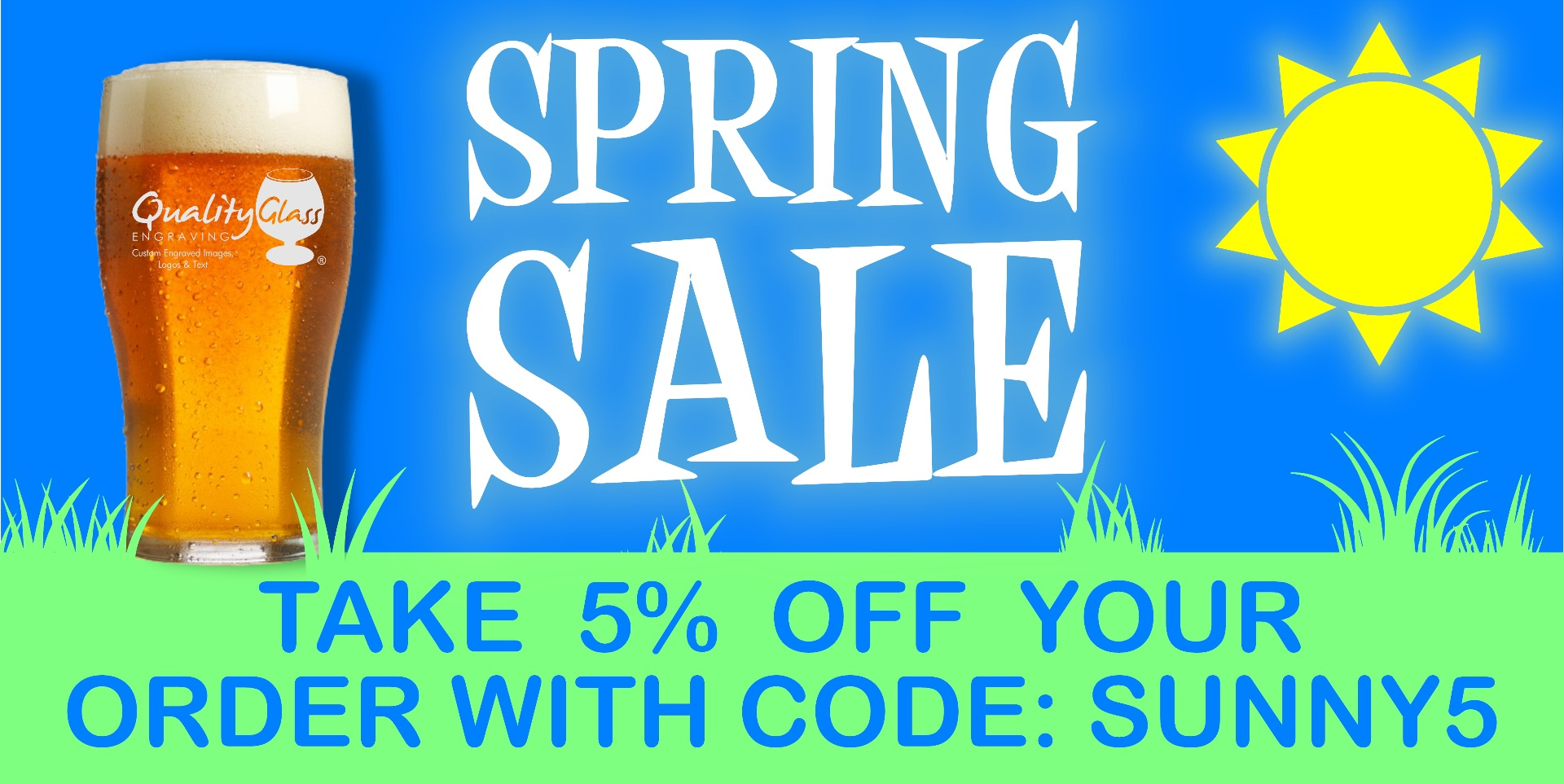 Spring Sale Off 5% on Glassware