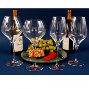 Personalized Riedel Crystal Glasses
