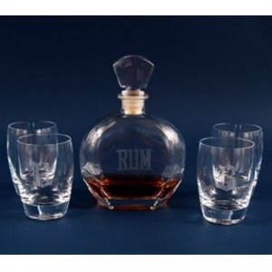 Personalized Whiskey Decanter Sets